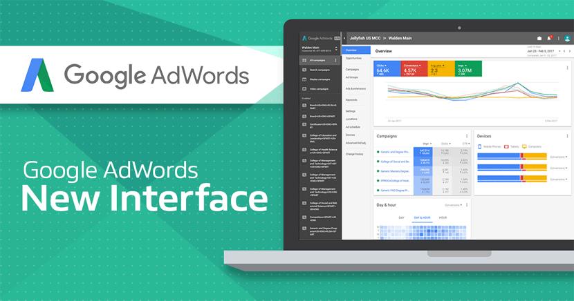 Un repaso a las funcionalidades de la nueva interfaz de Google Adwords