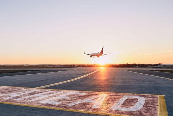 aterrizaje de avion